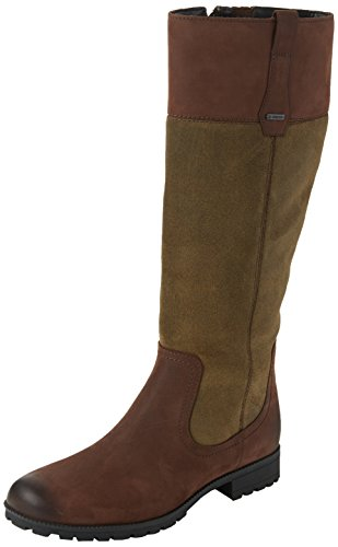 Hotter - Marlowe, Riding Boots Donna Brown (Brown-Khaki)
