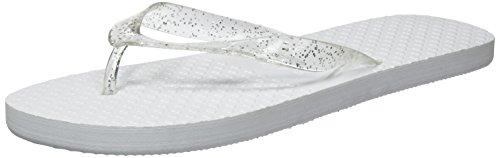 Zohula Weiße Hochzeits-Flip-Flops Zehentrenner - 10 Paar