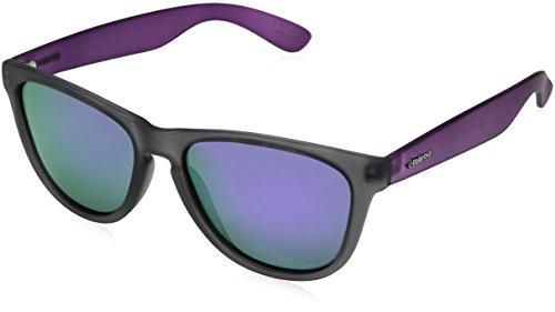 Polaroid Unisex-Erwachsene P8443 MF ZLP Sonnenbrille, Grau Violet/Grey, 55