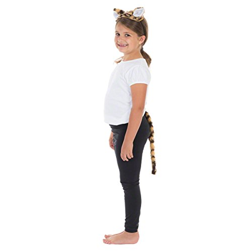 Tiger ohren und Schwanz für Kinder 3+ jahre.