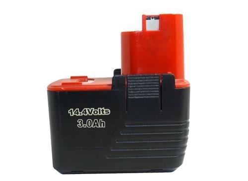 PowerSmart NiMH 14,40V 3000mAh Kompatibler Ersatz für BOSCH 2 607 335 160, 2 607 335 210, 2 607 335 246, 2 607 335 252, 2610995883, PSR 14.4 VES-2 Werkzeug Akku