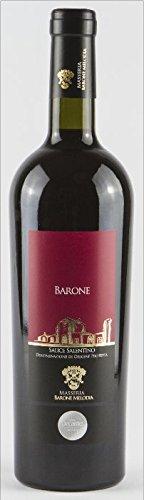"""Masseria Barone Melodia Vino Rosso """"Barone"""" Salice Salentino DOP Puglia 2015 - 1 bottiglia da 750 ml"""
