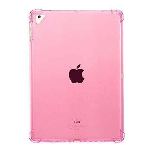 VrsaMwbbmml Caso para iPad Mini 5 iPad Mini 2019 tejadillo TPU Skin Protector Protector Phone caso tejadillo Compatible Con iPad Mini 5 iPad Mini 2019 (Pink) (Fundas Para Ipad Mini)