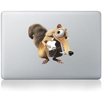 """Macbook 13"""" et 15"""" décalcomanie autocollant Squirrel l'art pour les Apple ordinateur portable"""