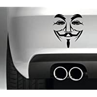 ANONYMOUS MASK GROUP FUNNY BUMPER STICKER CAR VAN DECAL VINYL GRAPHIC WE ARE SUBCULTURE