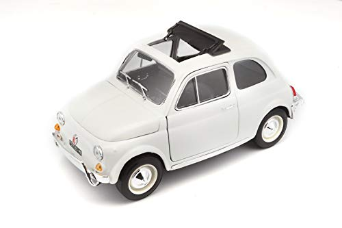Bburago 18-12035 - Fiat 500 L 1968 1:18 [Colori Assortiti]