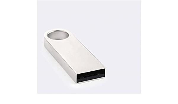 PanpA Durevole Disco da 64 GB Mini Memory Stick USB2.0 Thumb Drive Disco Flash Metal U impermeabile Bianco
