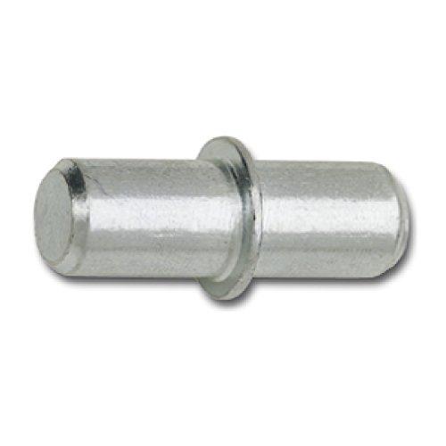 SECOTEC Bodenträger DUO mit Ring | Bohr ø 5 mm | Plattenträger zum Stecken | Stahl | 20 Stück