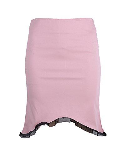 Edler PIN UP Pencil Skirt ROCK mit Ruffle Rockabilly -