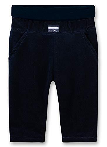 Sanetta Baby-Jungen Pants Hose, Blau (Deep Blue 5993), 74 (Herstellergröße: 074)