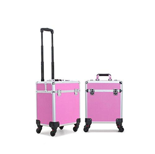 Borse personalizzate Casi cosmetico di corsa pieghevole cosmetico Fashion Box
