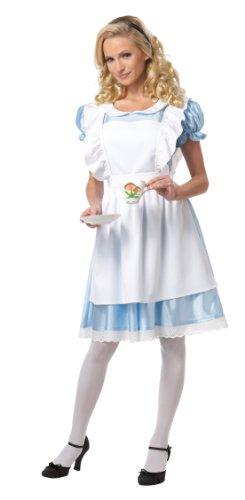 erland Adult Costume Extra Large (Alice Im Wunderland Kostüm Classic)