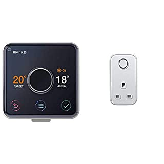 Hive Active Heating and Hot Water Thermostat without Professional Installation + Hive Active Smart Plug