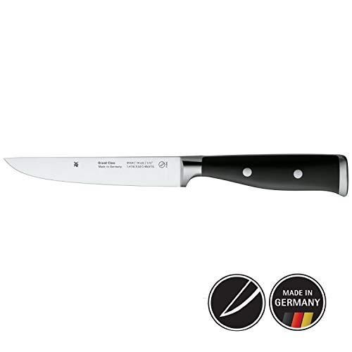 WMF Grand Class Zubereitungsmesser, 27 cm, Spezialklingenstahl, Messer geschmiedet, Performance Cut, Griff vernietet, Klinge 14 cm