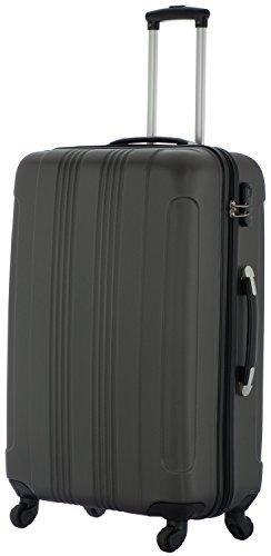 Cahoon - Reisekoffer 4-Rollen Trolley Hartschale - XL (anthrazit)