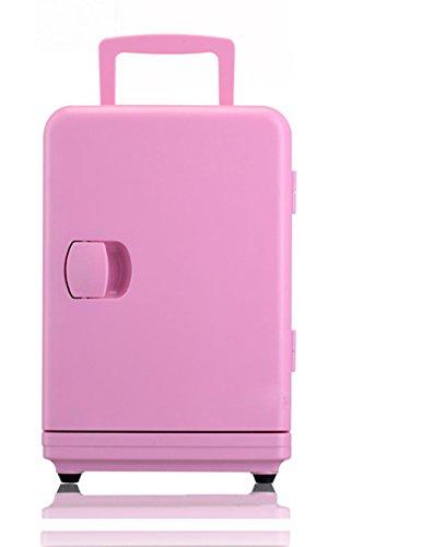 XW 6L Auto Haus Studenten Schlafsaal Kleinen Kühlschrank , Pink,pink