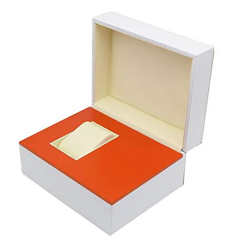 r/Frauen Hölzern Uhrenbox Schmuck Lager Schaukasten Paar Sehen Box,White ()