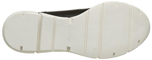 Calvin Klein - Winona, Sneaker Donna Bianco (Blanc (Pwg/Neoprene Perf/Mini Hexa))