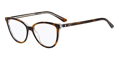 Dior Brillen MONTAIGNE 33 HAVANA CRYSTAL Damenbrillen