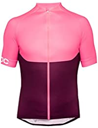 POC Essential XC Zip Maillot, Unisex Adulto, Rosa (flerovium Pink), M