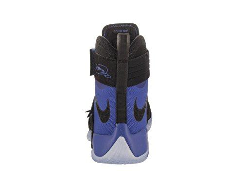 Nike Mens Lebron Soldier 10 SFG Basketball Shoe Black/Black-game Royal