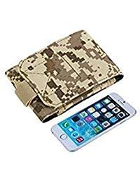 Tradico® 4.7 Inch Outdoor Bag Belt Hook Pouch For Mobile Phone Digital Desert Camo