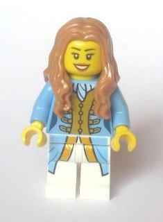 LEGO PIRATEN - seltene Minifigur Sammelfigur GOUVERNEUR TOCHTER ( Governor's Daughter ) aus Set 70412