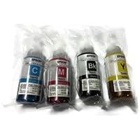Compatible Epson T664 - 4 botellas de tinta negro, cian, Magenta y amarillo EcoTank