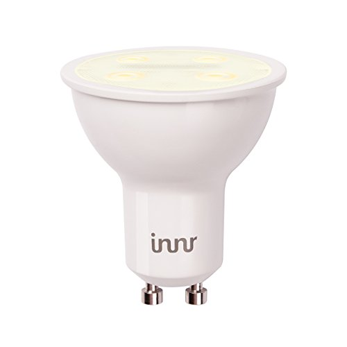 Innr GU10 Smart LED Spot, Warm White, Dimmable (Compatible with Hue*, Echo Plus, Smart Home Ecosystem & Alexa) RS 125