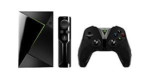 envidia: Nvidia Shield TV - Reproductor de streaming para jugadores + Mando inalámbrico, ...
