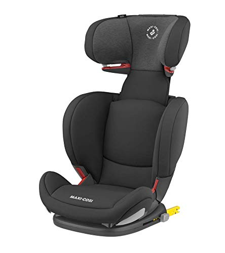 Maxi-Cosi RodiFix AirProtect Child Car Seat, Isofix Booster Seat, Black, 15-36 kg Maxi-Cosi Booster car seat for children from 15-36 kg (3.5 to 12 years) Grows along with your child thanks to the easy headrest and backrest adjustment from the top Patented air protect technology for extra protection of child's head 1