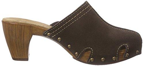 Tamaris Damen 27300 Clogs Braun (Mocca 304)