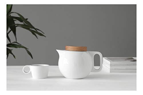 Viva Scandinavia Amelia Théière en Porcelaine Blanc 0,75 l