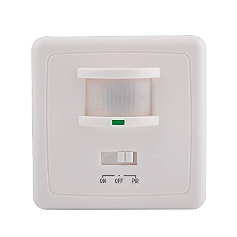 Sensky SK031B 220-240V/AC Wall Mounted 9m Automatic PIR Infrared LED