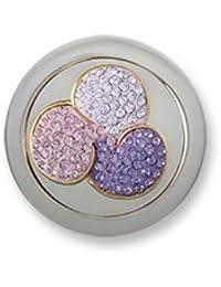 Moneda Swarovski 3D Flower Lavender