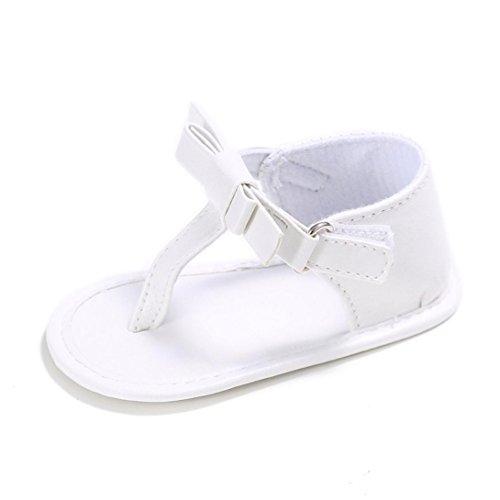 alen Kleinkind Schuhe Lauflernschuhe Mädchen Krippe Schuhe Neugeborenen Zehentrenner weiche Sohle Anti-Rutsch Baby Turnschuhe (0~6 Monate, Blau) ()