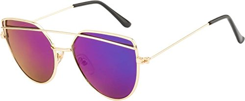 HardRossTM HardRoss™ High Quality Premium Executive Multicolour Metal Aviator Sunglasses for Unisex