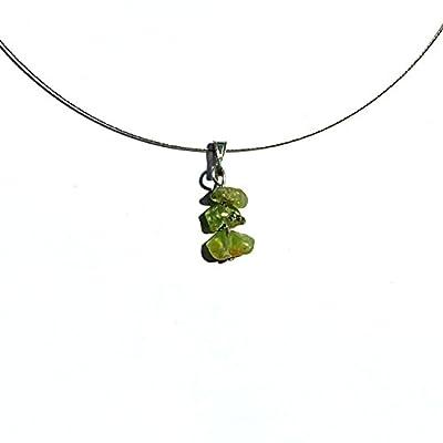 Collier peridot, pendentif naturel pierre gemme, bijoux peridot naturel collier naturel pierre gemme pendentif peridot pierre naturelle