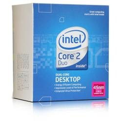 Intel Core 2 Duo E7500 Dual-Core Prozessor (2.93GHz, 3 MB Cache, Sockel 775, 1066MHz FSB) - Intel Dual Core Duo