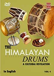 THE HIMALAYAN DRUMS VOL. 1 - DVD - Trommel-musik Indische