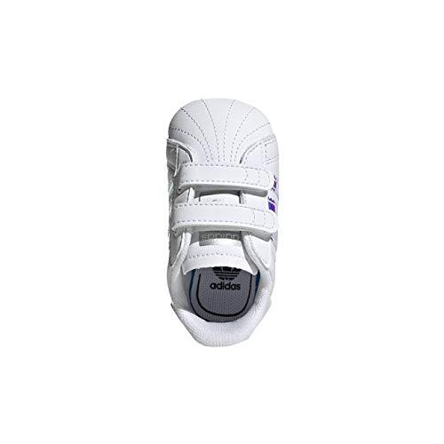 timeless design 88cc9 c4cd0 adidas Superstar Crib, Zapatillas de Gimnasia Unisex bebé, B