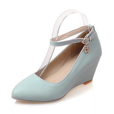 Zormey Les Talons Des Femmes Printemps Été Chaussures Formelle Partie Similicuir &Amp; Boucle Talon Robe De Soirée US9.5-10 / EU41 / UK7.5-8 / CN42