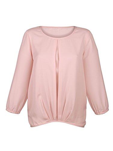 Damen Bluse mit Faltenlegung by AMY VERMONT Rosé
