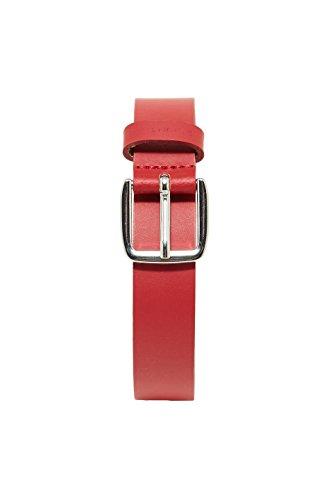 ESPRIT Accessoires Damen Gürtel 078EA1S001, Rot (Cherry Red 615), 80