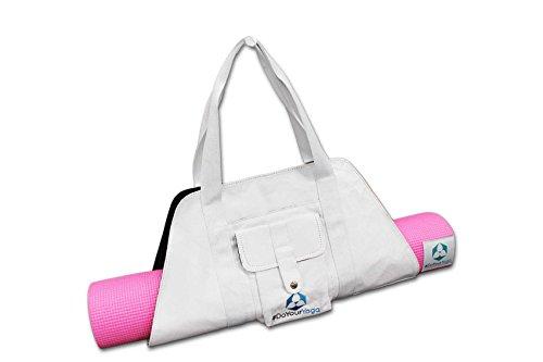 #DoYourYoga Yogatasche »Sumantra« / Sling Yogabag für extra große Yogamatten/Pilatesmatten bis 100 cm Breite/Weiss