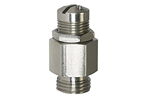 Mini-Abblasventil, ES, nicht bauteilgeprüft, Betriebstemp. -20°C bis 180°C, PN max. 0,5-60 bar, G 1/4, Ansprechdruck 30,0-60,0 bar