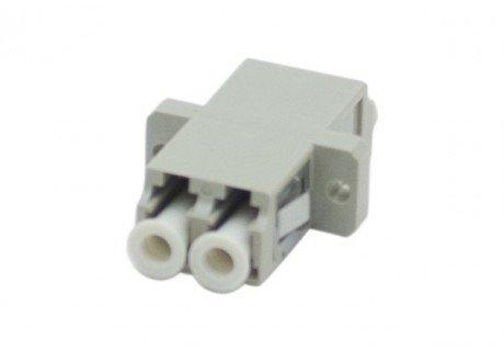 Traversée coupleur fibre optique multimode LC/LC duplex