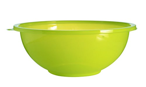 Super Bowl 5320-GRN Salat- / Servierschüssel, groß, 320 oz, Grün, 25 Stück Salat-chip