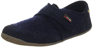 Living Kitzbuhel 1654 Velcro and Velour, Boys' Low-Top Slippers, Blue (590 Nachtblau), 1 Child UK (33 EU)