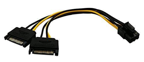 zu 15pol SATA Power Splitter Express Video Karte Power Kabel Adapter ()
